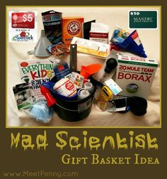 For a birthday, Easter,  Christmas or ANY time kid's gift - a homemade mad scientist's tool kit