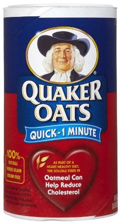 Quaker Standard Oatmeal Quick  18 oz -- Details can be found by clicking on the image. (This is an affiliate link and I receive a commission for the sales)