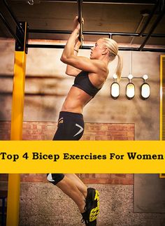 Top 4 Bicep Exercises For Women