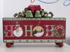 HoHoHoooooo!!! Christmas needlepoint