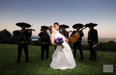Mariachi wedding at the Eagle's Nest.