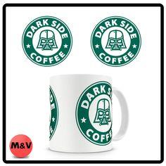 Star Wars, Darth Vader, Dark Side Coffee Mug, Starbucks
