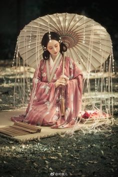 Pictures of hanfu (han chinese clothing) I like. Hanfu, Traditional Fashion, Traditional Dresses, Oriental Fashion, Asian Fashion, Asian Style, Chinese Style, Image Japon, Kubo And The Two Strings