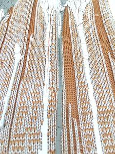 Pipp jones, Decay, knit sample on Behance