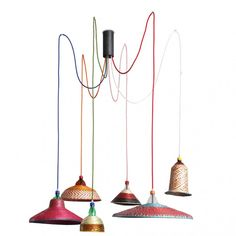 PET ES Pendant Lamps - Set of 6