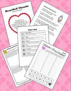 FREE February Activities from Teaching Resources (If you like it, please take a moment to rate it! Thanks.)