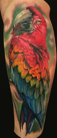 Oltre 1000 idee su Tatuaggio Di Un Pappagallo su Pinterest   Tatuaggi ...