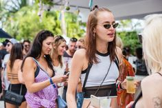 WMC Miami Street Style // See more at Racked: (http://miami.racked.com/2015/3/30/8312429/what-to-wear-to-wmc-pool-parties-2015#4706874)
