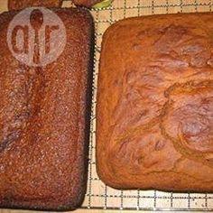 Veganitische en glutenvrije gembercake @ allrecipes.nl