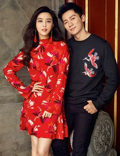 Fan Bingbing & Li Chen for H&M 2017 Chinese New Year Campaign + Collection - nitrolicious.com