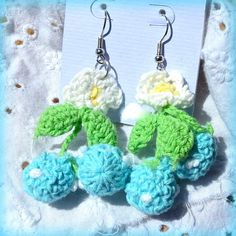 Crochet Cotton Cherry Blossom Flowers by Treasure2Remember on Etsy, $4.00 #rt #SWAG #ABEES