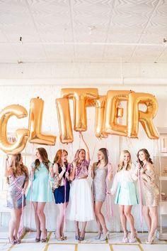 Fun & Girly Glitter Party With Caroline Birgmann