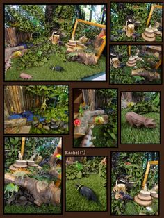 "Dinosaur small world play from Rachel ("",)"