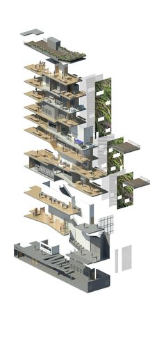 Vertical Neighborhood | Michael Penzel | Archinect