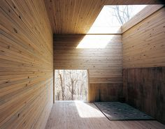 ELEMENT HOUSE Site-specific architectural installation to Bisan Urban Natural Park, Anyang resort, South Korea, 2006