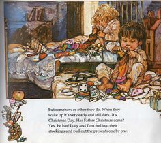 Lucy and Tom's Christmas by Shirley Hughes  one of Jolena's favorites!