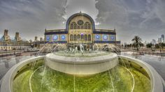 Central Souq in Sharjah, UAE.