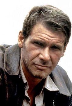 Harrison Ford as Indiana Jones.