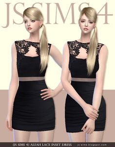 Sims 4 CC's - The Best: Dress by JS Sims