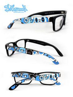 Bücherwurm glasses by bobsmade, via Flickr