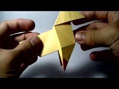 How to make the pajarita origami This is a simple bird featured on the game Heavy Rain (PS3) If your paper has only one coloured side, start making a blintz ...