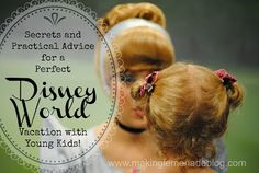 If you have a trip to Disney with a toddler and/or preschooler in your future, than this post is a must read. From the blog Making Lemonade, take note of these tips and tricks for visiting Disney World or Disney Land with kids and toddlers. These points will make your trip successful and hopefully meltdown free.