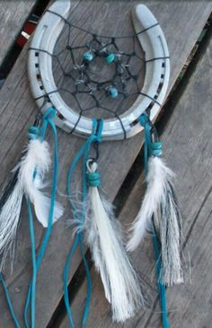 Horse shoe dreamcatcher ~ pic from google