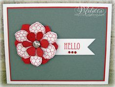 Hibiscus 2 - Clear Stamp Set - Prickley Pear Rubber Stamps