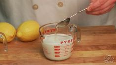Make Your Own Buttermilk with Milk and Lemon Juice or Vinegar