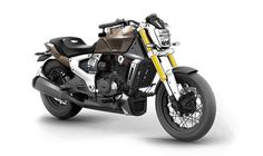 The TVS Zeppelin features a 220cc gasoline engine aided by a 1,200-watt electric assist motor