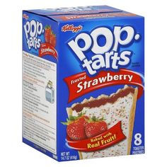 Kellogg's Pop-Tarts Frosted Strawberry Pastries 8 ct : Target