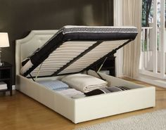 Queen Storage Bed Fr