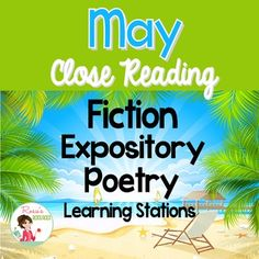 This May Close Reading packet has everything you will need to teach close reading comprehension skills for the month of May. Texts are presented in two Lexile levels to support differentiated instruction. All texts are accompanied by five or six text-dependent questions.