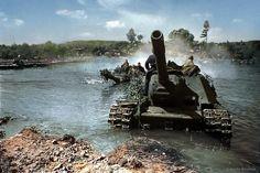 Soviet heavy tank destroyer go west, 1944 by klimbims on DeviantArt Military Guns, Military Photos, Military Vehicles, Isu 152, War Thunder, Ww2 Photos, Tank Destroyer, Forest Road, Armored Fighting Vehicle