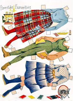 Annette by Whitman 1960 - Kathy Pack - Picasa Webalbum* 1500 free paper dolls international artist Arielle Gabriel's The Internatonal Paper Doll Society for paper doll pals at Pinterest *