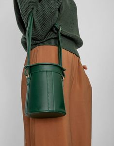 Crosby Bucket Bag in Green | $78