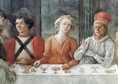 Duomo di Prato - metà XV secolo. Vestiario maschile e femminile