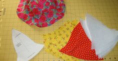 I want to stress that this project really is simple. I got the pattern piece from this tutorial on about.com . The tutorial there is pre...