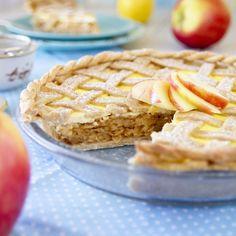 Fitness+mřížkový+jablečný+koláč+s+tvarohem 20 Min, Apple Pie, Fitness, Food And Drink, Healthy Recipes, Healthy Food, Treats, Snacks, Baking