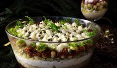 Gęsie łapki. Przepyszne ciasteczka twarogowe - Przepis - WP Kuchnia Ricotta, Mozzarella, Pesto, Acai Bowl, Potato Salad, Potatoes, Breakfast, Ethnic Recipes, Food