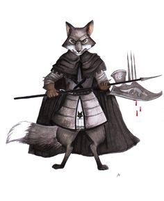 Redwall: Mokkan the Marlfox by FairytalesArtist on DeviantArt