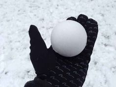 Let us all stop to enjoy the perfect snowball. | 34 Photos That Will Satisfy All Perfectionists