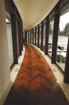 Beautiful Wood Floor Design Paint The Wall In Flat Color Then Use The Same Color But In High Gloss For The Design