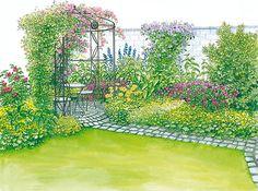Gartenhof in neuem Look - Mein schöner Garten