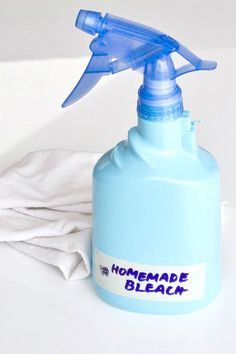 A Nontoxic and Homemade Bleach? Yes, Please!
