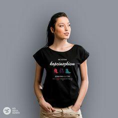 Nie jestem kopciuszkiem #koszulkowo #koszulka #fashion #tshirt #women #kopciuszek #story #boot