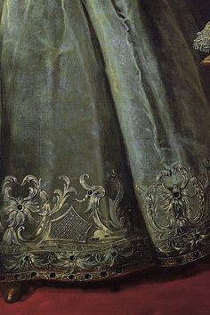 Vishnjakov Ivan - Portrait of Empress Elizabeth