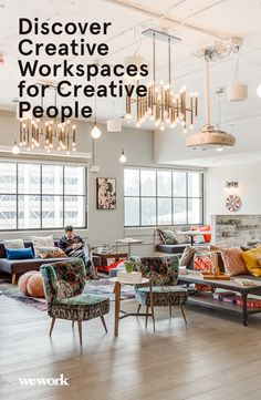 Find an energetic, inspiring workspace in Los Angeles. WeWork provides you with the community and services you need to make a life, not just a living. From personal desks to private offices, explore our creative workspaces for creative people!