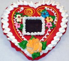 gingerbread heart from Hungary