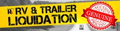 Our RV & Trailer Liquidation Sale is going on now! Take advantage of our best prices of the season at the perfect time! RV & TRAILER LIQUIDATION CALL 1 (888) 652-2964 FOR PRICING